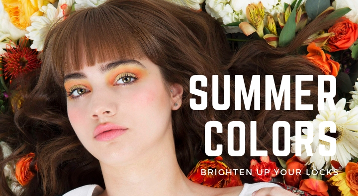 summer, hair, color, style, bangs, creative team,