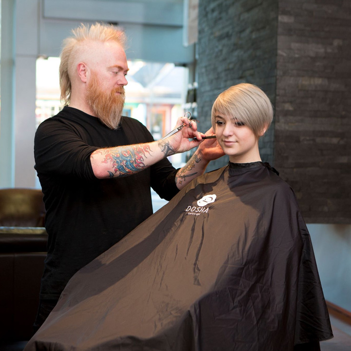 Dosha Salon Spa master Stylist Brian Cline