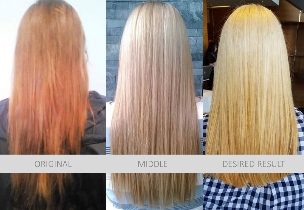Color Correction Hair Model, Dosha Salon Spa