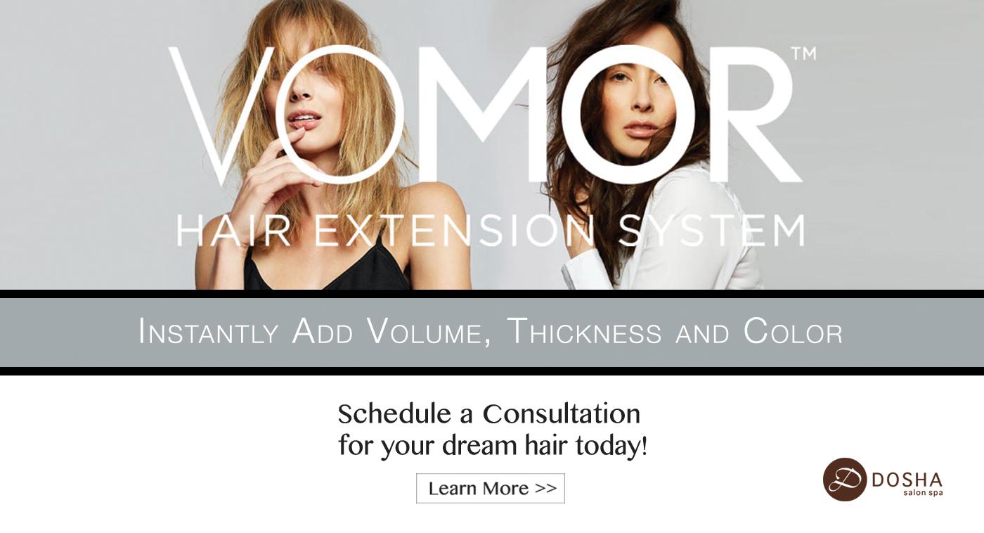 VoMor Exclusively at Dosha Salon Spa