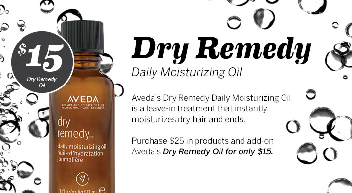$15 Dry Remedy Oil, Dosha Salon Spa