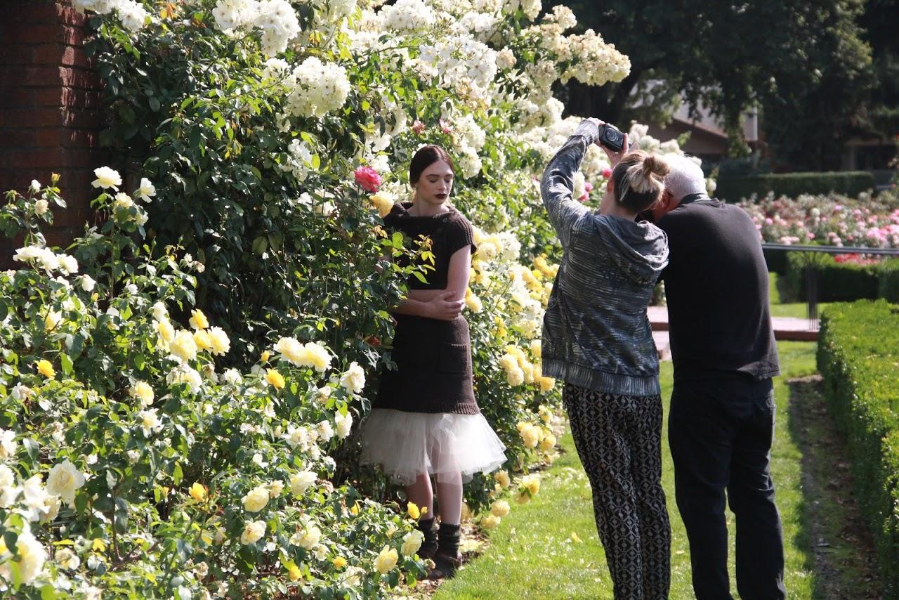Dosha Creative Team fall 2015 garden photoshoot