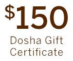 One Hundred Fifty Gift Certificate