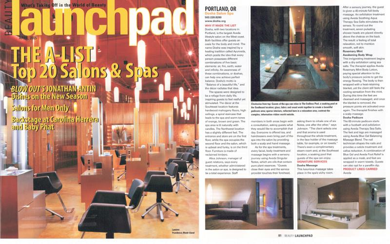 LaunchPad Magazine: Top 20 Salon & Spas