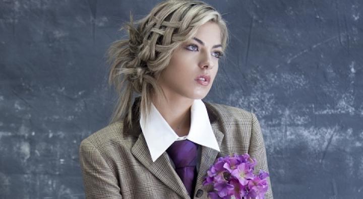 Basket Weave Updo, Hairstyles