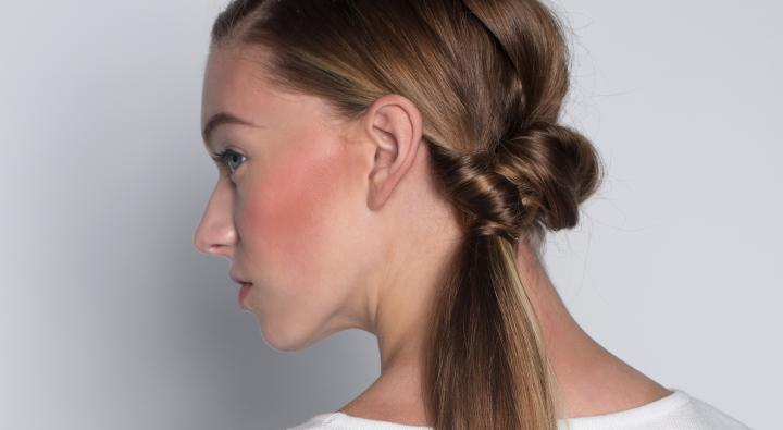 crop, ponytail, pony, sleek, straight, updo, style, salon