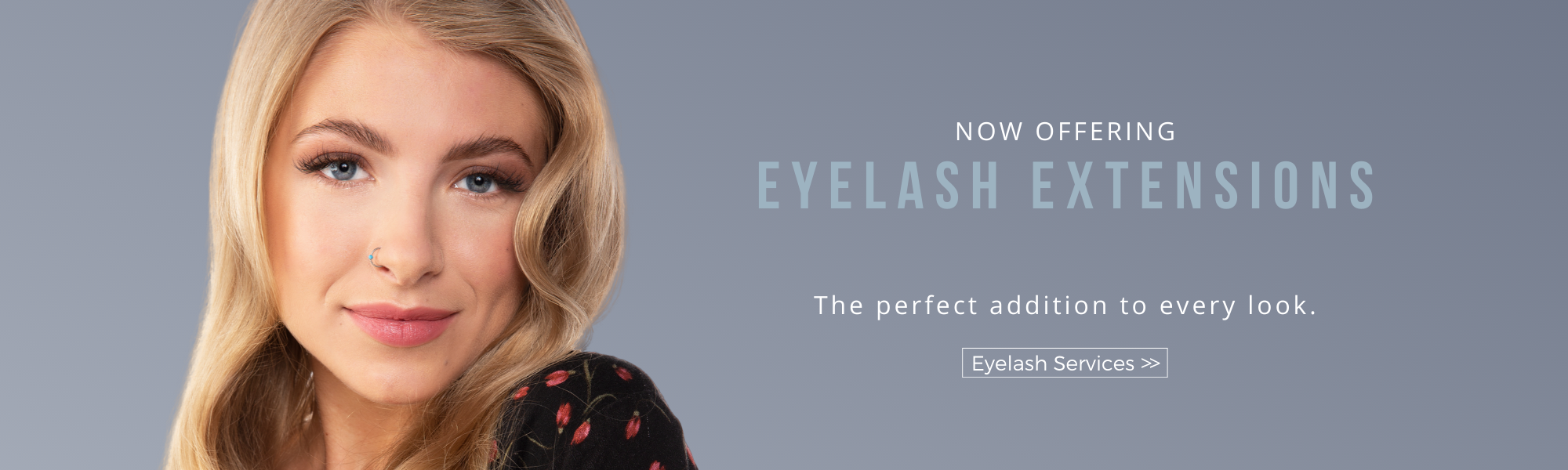 eyelash extensions are the perfect addition to any look. Get set for the new year with eyelash extensions now offered at Dosha Salon Spa