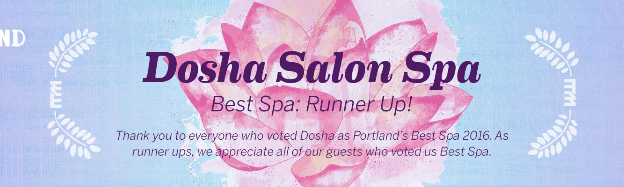 Best of Portland: Best Spa Runner Up Dosha Salon Spa