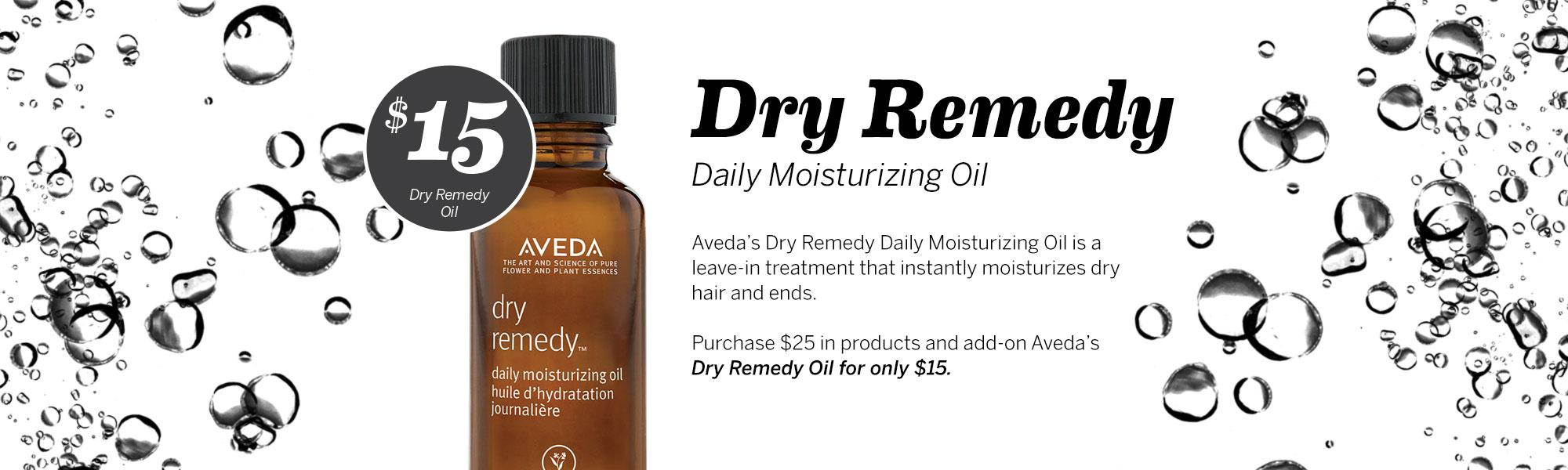 $15 Dry Remedy Daily Moisturizing Oil, Dosha Salon Spa
