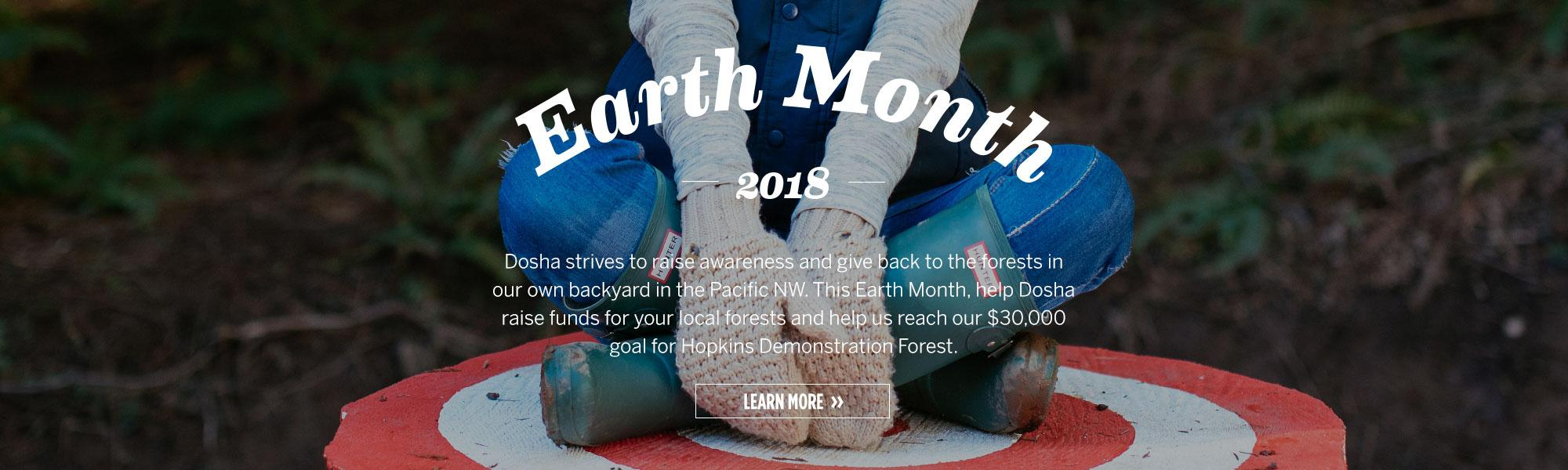 Dosha Salon Spa, Earth Month 2018, Community, Giving Back, Fundraising