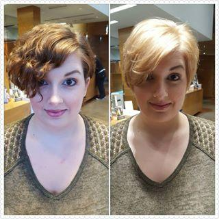 Cut and Color Dosha Salon Spa Pixie