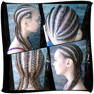 Cornrows Dosha Salon Spa