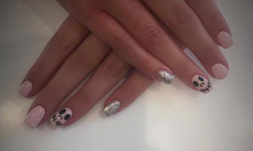 Nail Art Halloween Dosha Salon Spa