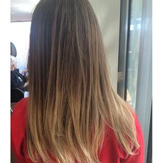 Blonde Ombre Dosha Salon Spa