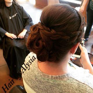 Up-Do Wedding hair Braids Dosha Salon Spa