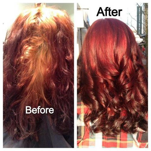 Color Correction, Aveda Color, Dosha salon Spa