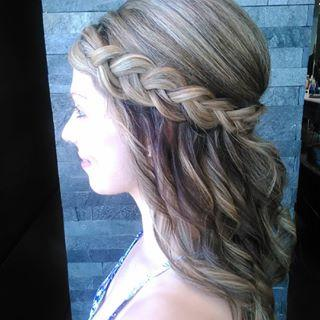 Braids Up-do Dosha Salon Spa