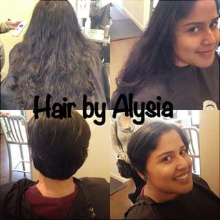 Short Pixie Haircut Long to Short Dosha Salon Spa