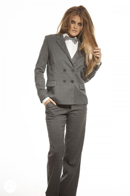 Dosha Creative Team Girly Man Photoshoot  women in men's suits