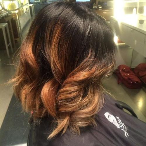 Golden Ombre From Dosha Salon Spa