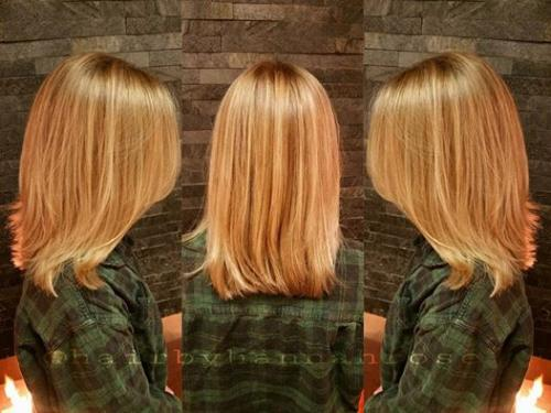Aveda Blonde haircolor