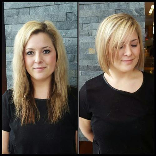 Bob Hair cut Dosha Salon Spa