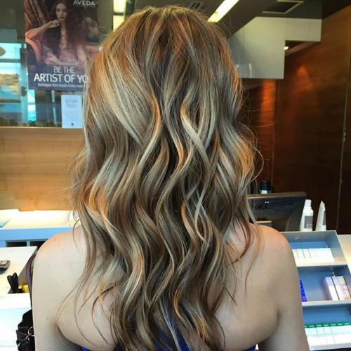 Aveda Sun kissed Blonde Dosha Salon Spa