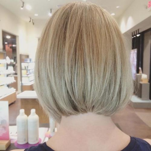 Blonde Bob Dosha Salon PDX Aveda