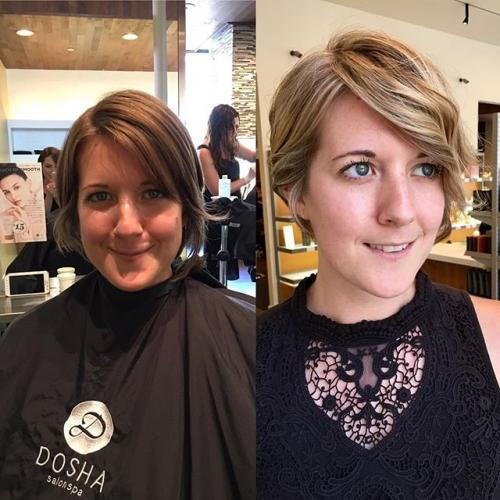 Before and After Hair Salon PDX