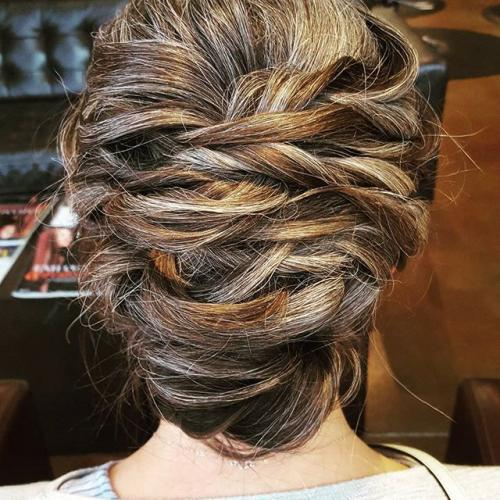 bridal up do Dosha Bridal elite PDX