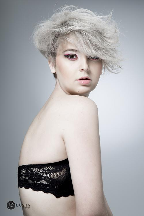 Textured Hair Editorial Short Hairstyles Master Stylist PDX