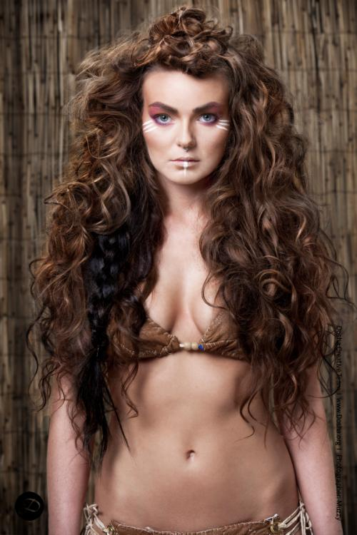 Modern Salon Tribal extensions big hair winner