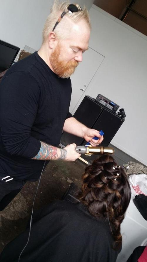 Male hairstylist