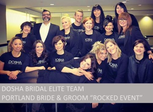 Bridal Elite Team, Rocked Event, Portland Bride & Groom