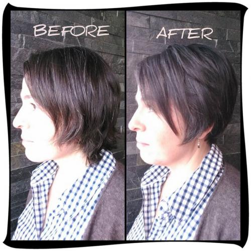 Short Haircut, Dosha Guest