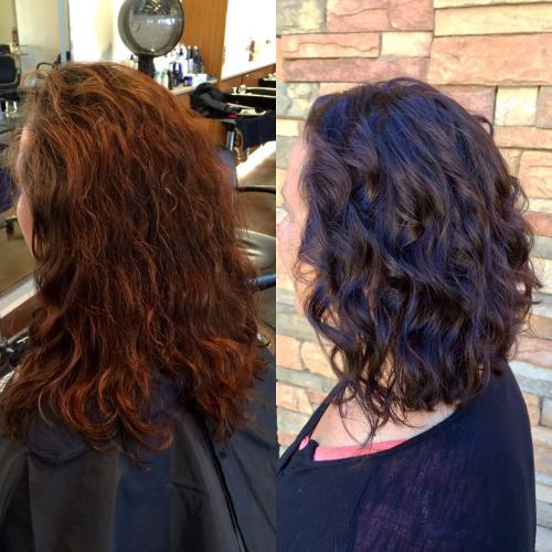 Dark Hair Color Dosha Salon Spa