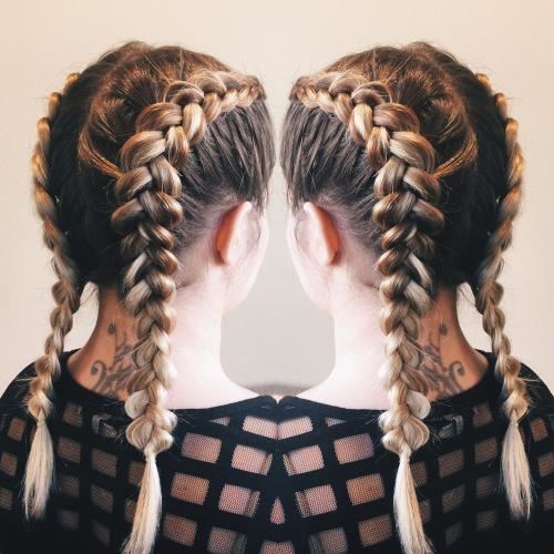 French Braid Dosha Salon Spa
