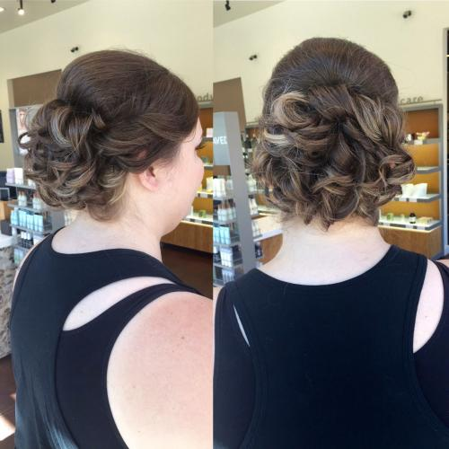 Bridal Updo Dosha Salon Spa