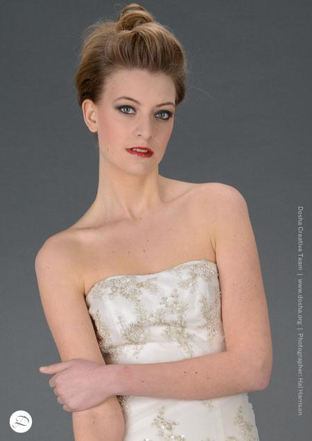 Dosha Creative Team Cocoon Silk Bridal Gowns Website Photoshoot