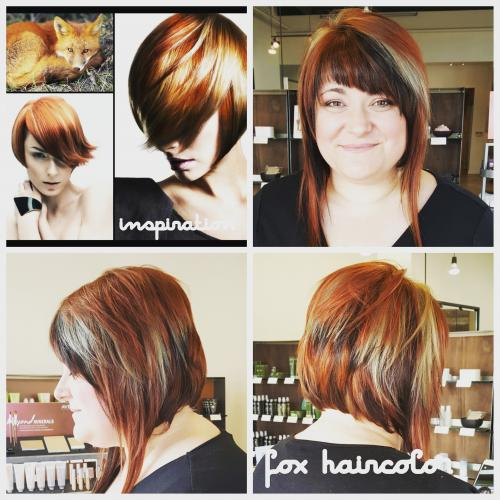 Color Inspiration Fox Redhead Dosha Salon Spa