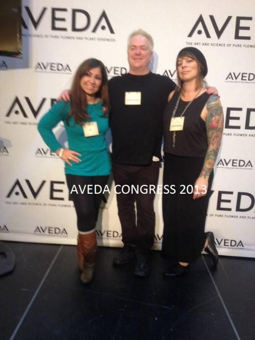 Dosha Team, Aveda Congress 2013