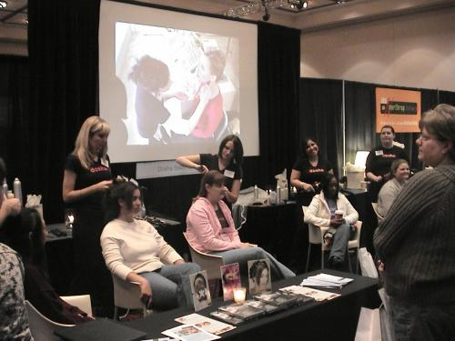 Dosha Stylists, Portland Bridal Show 2005