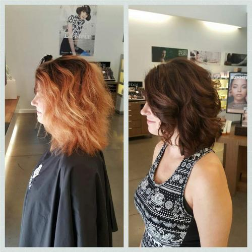 Hair Color Transformation Dosha