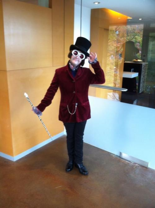 Daniel as Charlie & The Chocolate Factory
