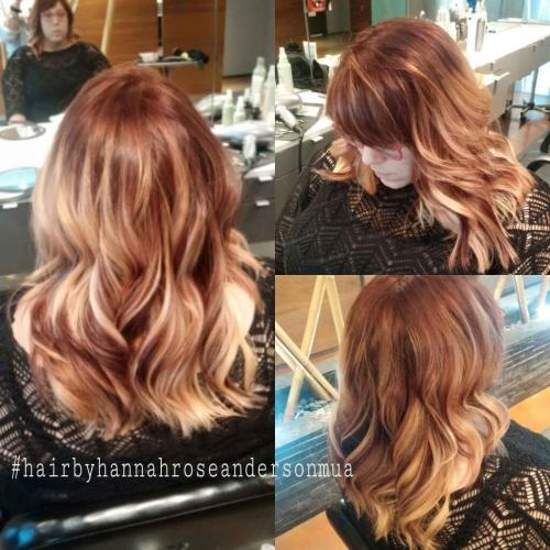 Blonde ombre Color, Dosha Salon