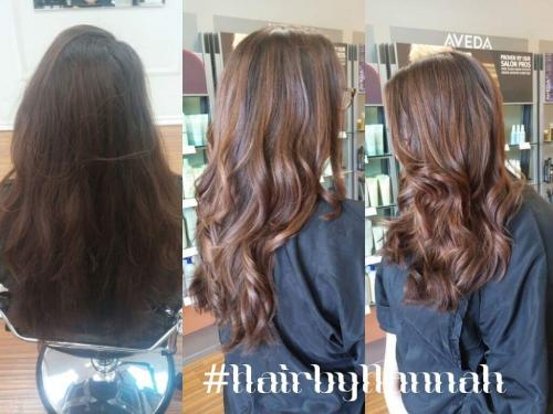 brunette hair color, Dosha Salon