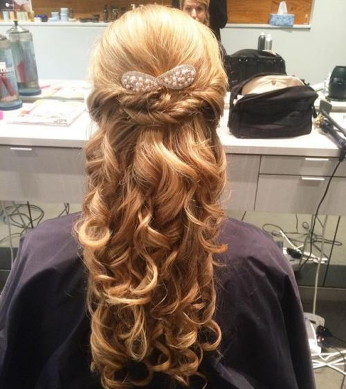 brides Styling Updo Wedding Dosha Salon Spa