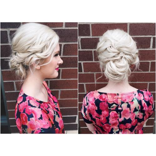 Updo Aveda Dosha Salon Spa PDX