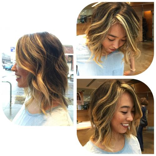 Aveda hair Color Dosha Salon Spa