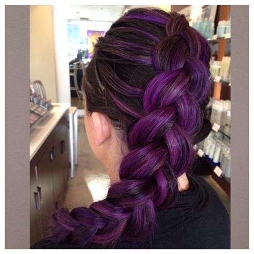Purple Hair Color Aveda